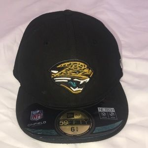 262a8ec84 New Era Accessories - New Era fitted hat Jacksonville Jaguars NFL